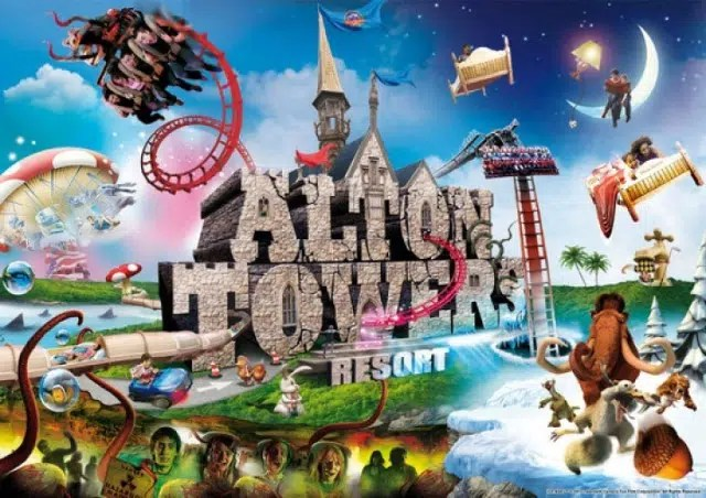 Alton Towers. Image from http://mindblowingtrip.com/alton-towers/
