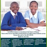 Applications For Form One Scholarships From KCB Foundation Are Now Open!
