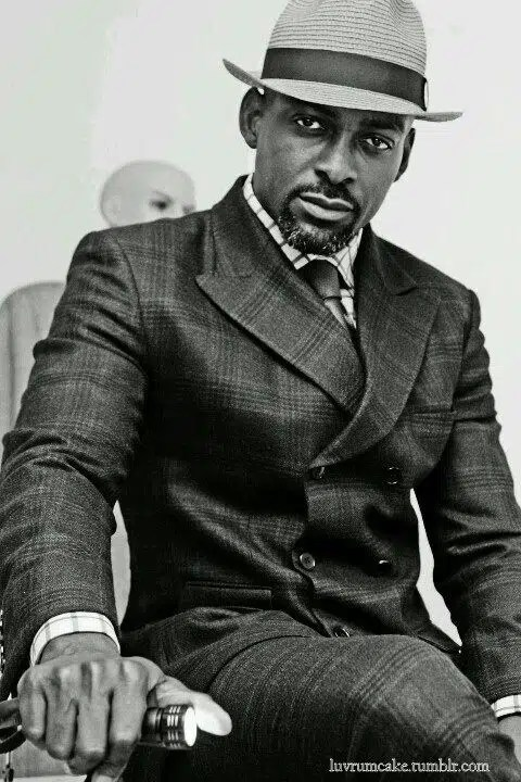 Dapper look. Image from Black Men in Suits - Page 3 http://j.mp/1p4JNdQ