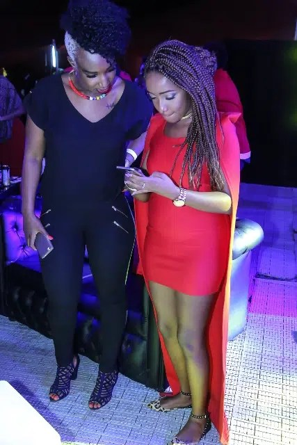 Talia and Anita Nderu. Image courtesy of Safaricom