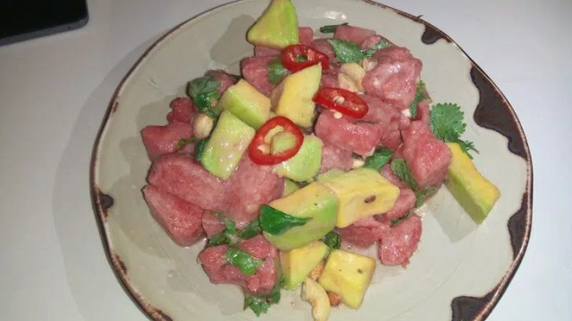 Samburu watermelon and avocado salad nyama mama