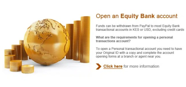 How to open a Equity Paypal account. Image from https://epal.equitybankgroup.com/paypal/pages/