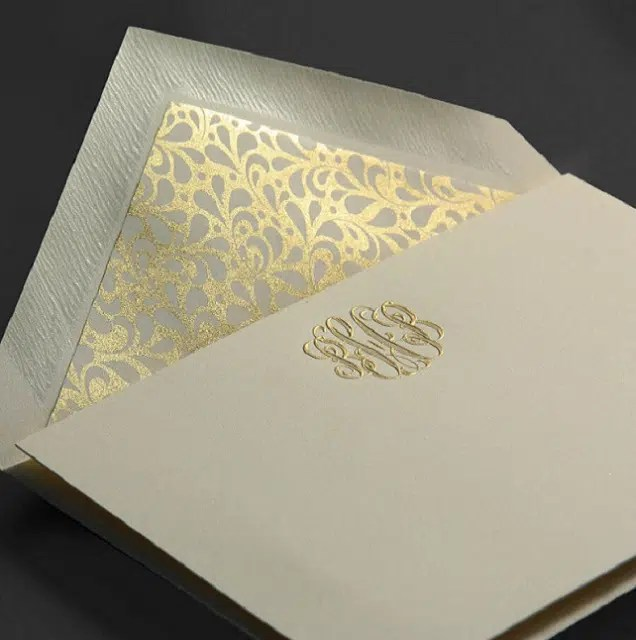 picture relating to Embossed Stationery known as 5 Factors Embossed Stationery Is Far better For Invites And