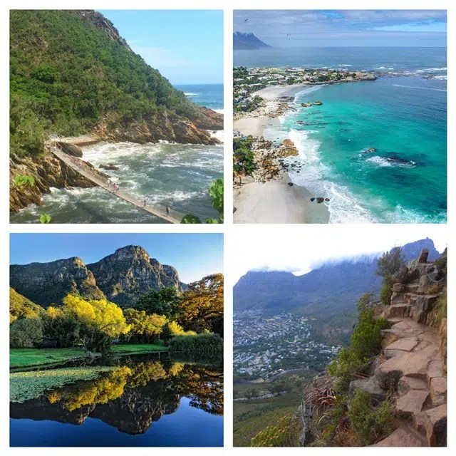 South Africa - Cape Town - Travel - Collage