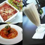 Food Review: Lasagna Bolognese, Spaghetti & Meatballs And Cappuccino Milkshake At Artcaffe Garden City