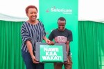 Safaricom's 30 Millionth Customer Receives College Sponsorship, Airtime and A Phone