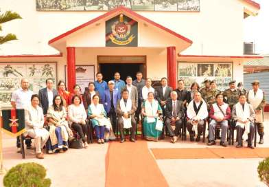 Link-Art centre launched at Assam Rifles hospital
