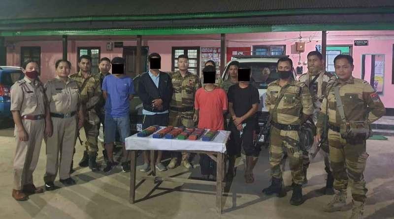 Thoubal Police nabs 4 drug dealers