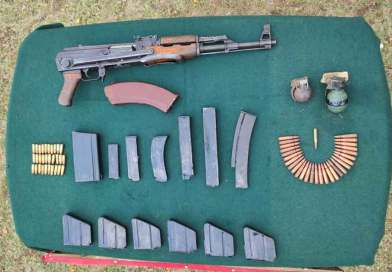 Security forces recover arms, ammunition near Indo- Myanmar border