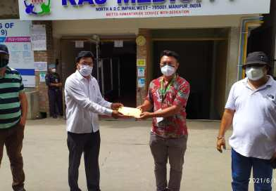 Transporters and drivers' Council renders assistance to Rengpang ambush victim cop