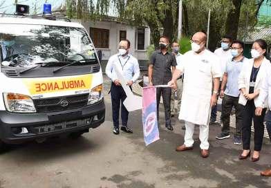 ICICI donates ambulance, oxygen concentrators