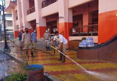 Cleanliness drive conducted at Ima Keithel