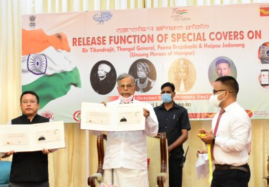 Ganesan releases special cover on Manipur heroes