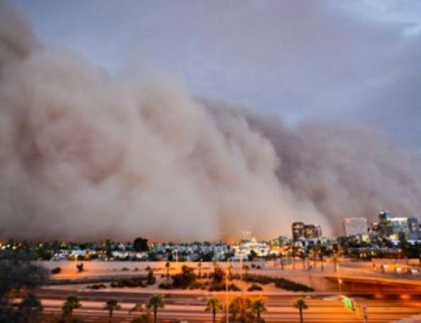 Haboob : Une Tornade énorme à Phoenix