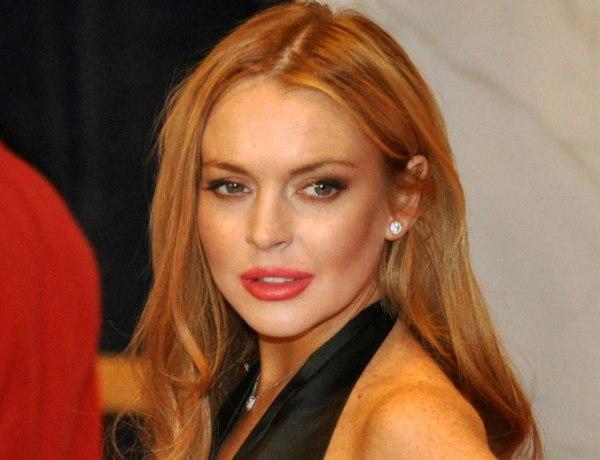 Lindsay Lohan triste à son procès