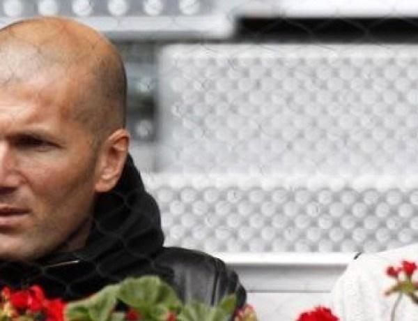 Zidane, entraineur de son fils au Réal