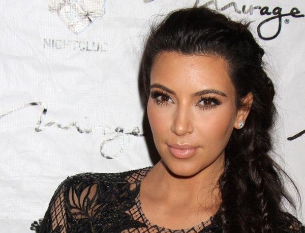 Kim Kardashian : Enfin son petit ventre !