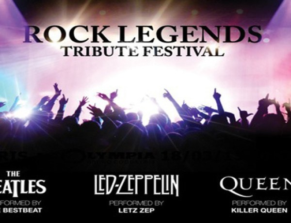 A réserver : Rock Legends Tribute Festival au Palais des Sports en 2015
