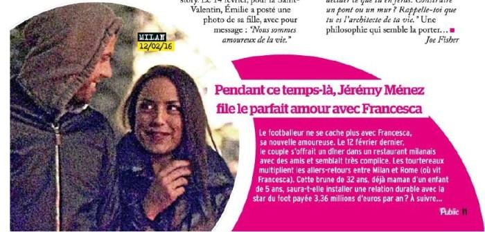 Emilie Nef Naf : Découvrez la nouvelle bombe de son ex Jérémy Ménez