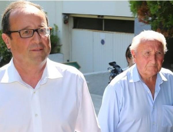 François Hollande: Son père hospitalisé