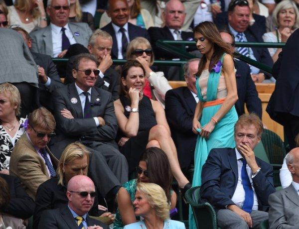 Marion Bartoli très affaiblie assiste à la finale de Wimbledon