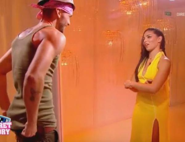 """#SS10 : Sophia met en garde Bastien, """"Si je vois un bisou avec Mélanie, je l'égorge !"""""""
