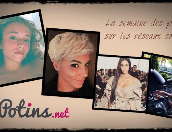 La semaine des people : Agressée, Kim Kardashian se retire des réseaux sociaux