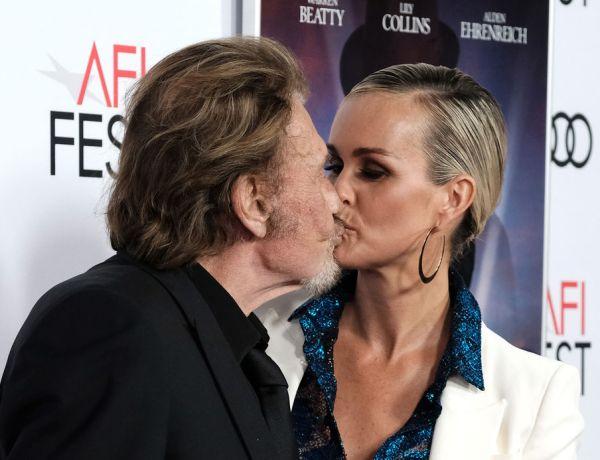 Le baiser langoureux de Johnny et Laeticia Hallyday fait le buzz !