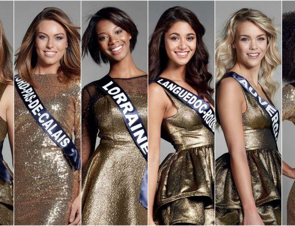 Miss France 2017 : Découvrez les 30 prétendantes au titre !