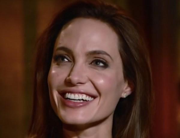 Angelina Jolie s'est mise à fumer !