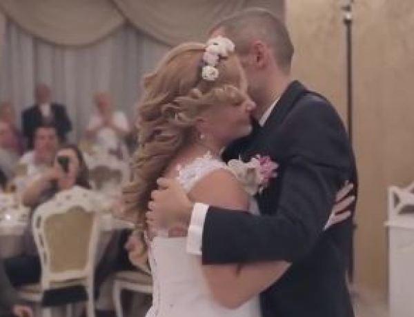 Cette ouverture de bal de mariage est incroyablement émouvante
