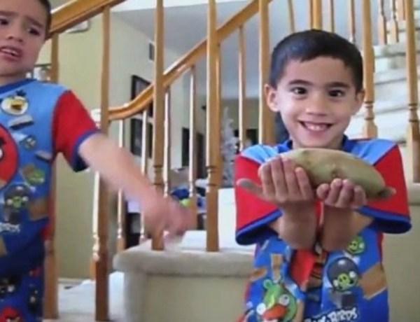 «J'ai offert un horrible cadeau à mes enfants»: Découvrez leurs hilarantes réactions
