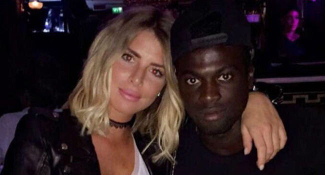 Emilie Fiorelli et M'baye Niang