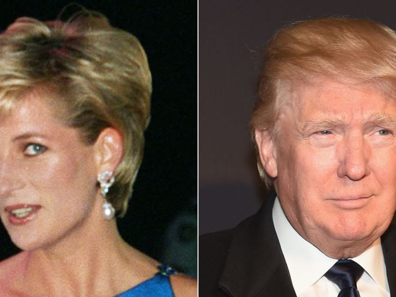 Quand Donald Trump draguait lourdement Lady Diana