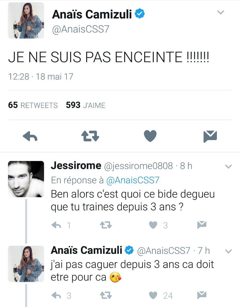 Anaïs Camizuli enceinte et mariée à un rappeur ? Elle rétablit la vérité !
