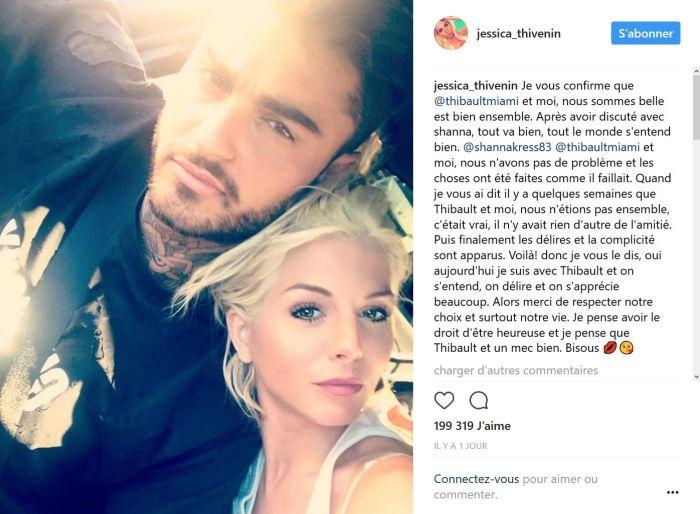 Jessica Thivenin et Thibault Kuro officialisent sur Instagram!