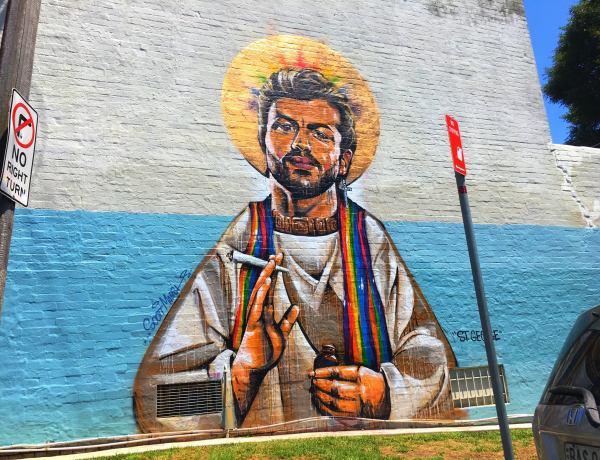 Mariage gay en Australie : Une fresque de George Michael volontairement détériorée