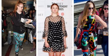 Top 10 des pires looks de Sophie Turner (Game of Thrones)