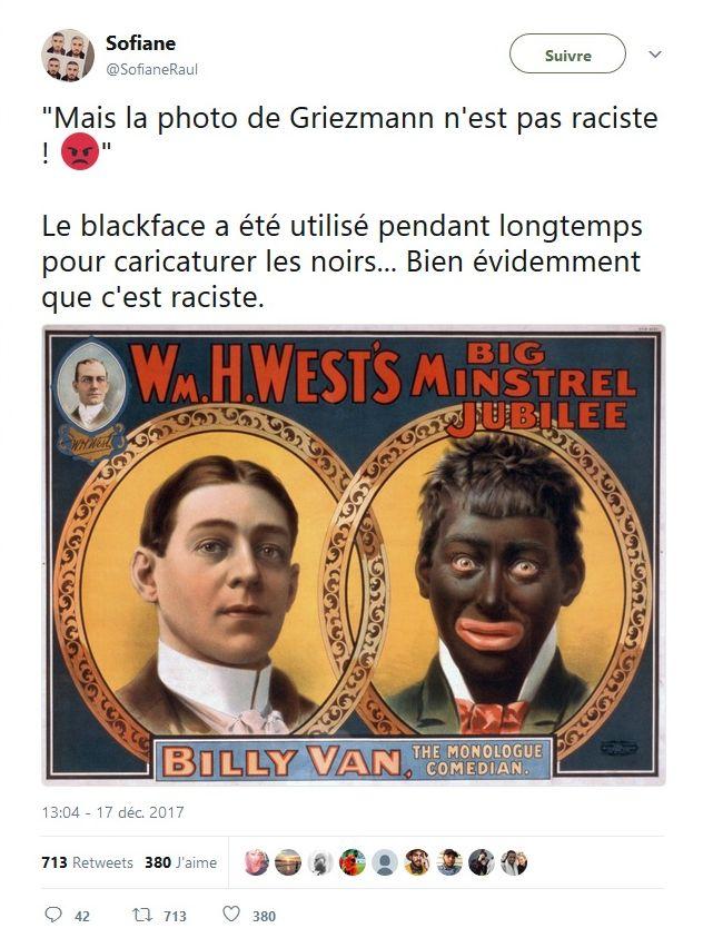 Antoine Griezmann : Le footballeur s'excuse après sa blackface