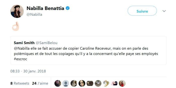 Caroline Receveur : Elle accuse Nabilla Benattia de la copier !