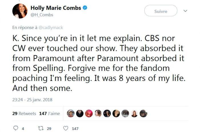 Holly Marie Combs : Son coup de gueule contre le reboot de Charmed