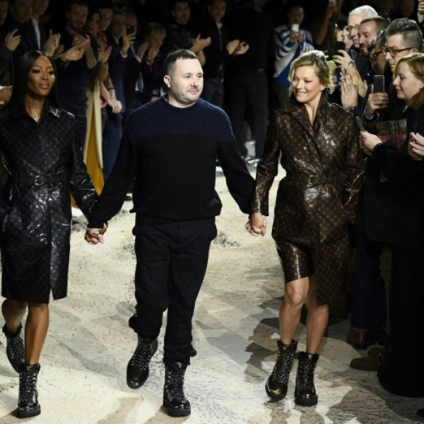 Mode: Kate Moss et Naomi Campbell sur le podium de Vuitton homme