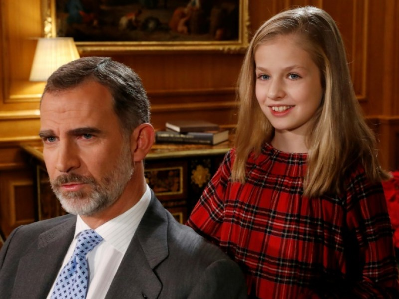 Espagne : Le roi fête ses 50 ans auprès de son héritière