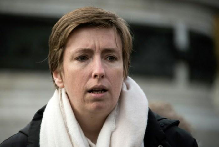 Caroline de Haas, le 24 novembre 2017 à Paris