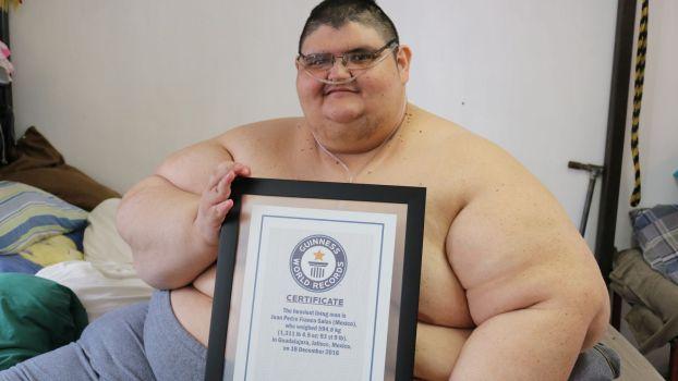 Homme Le Plus Gros Du Monde mexique : l'homme le plus gros du monde pourrait réussir à marcher