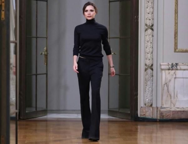 Fashion Week : Victoria Beckham discrète avant de fêter ses 10 ans à Londres