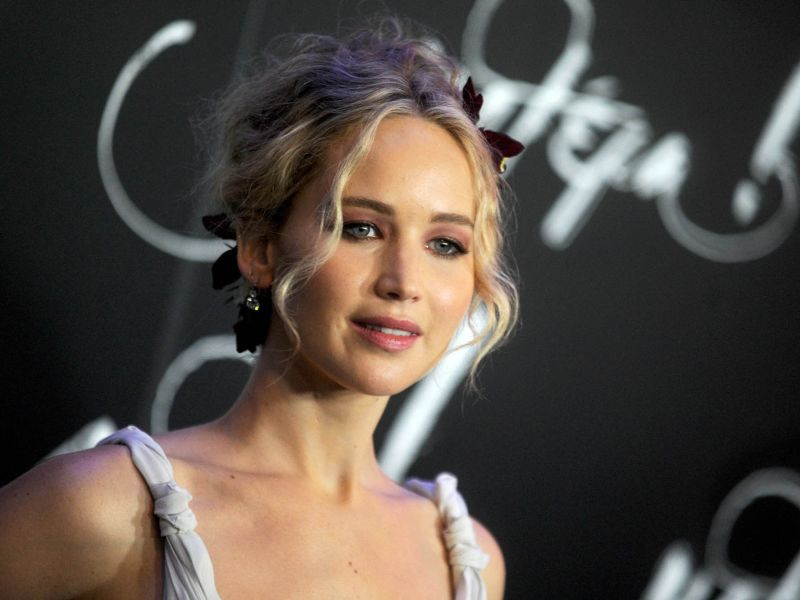 Jennifer Lawrence : Victime d'un grand moment de solitude dans un avion