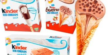 Arrêtez tout : les glaces Kinder débarquent enfin en France !