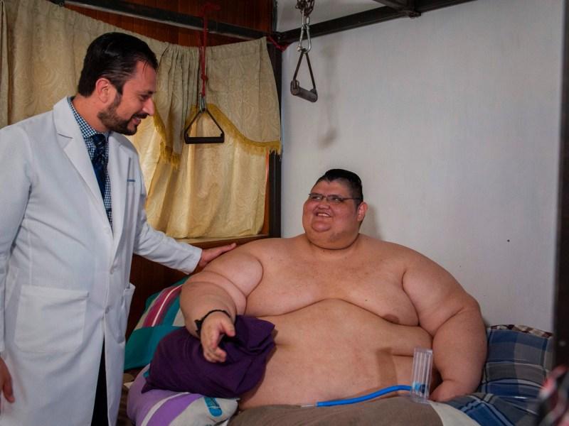 Mexique : L'homme le plus gros du monde pourrait réussir à marcher de nouveau