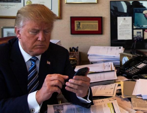 Donald Trump : son équipe et son épouse n'arrivent pas à l'empêcher de tweeter